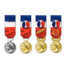 achat médaille du travail