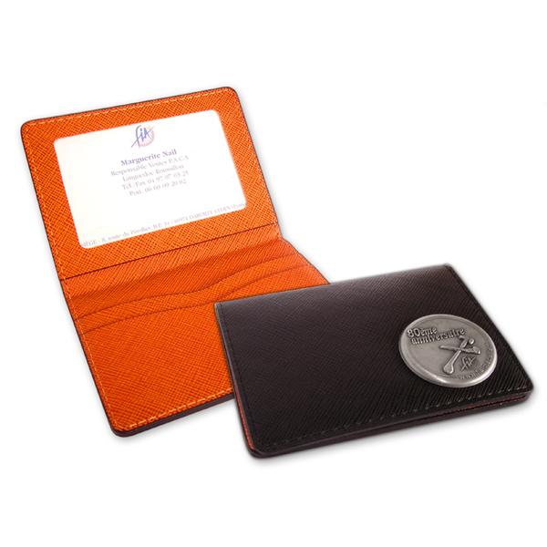 Porte-cartes de visite personnalisée