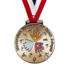 fabrication de médailles de sports pour fédérations sportives